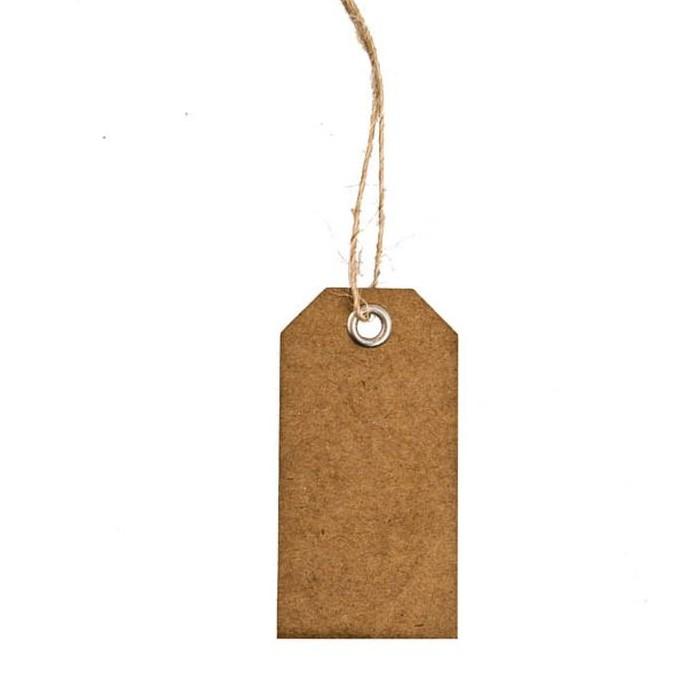 achat 15 etiquettes porte nom kraft rectangles marques place menu etiquettes 1001 deco table. Black Bedroom Furniture Sets. Home Design Ideas