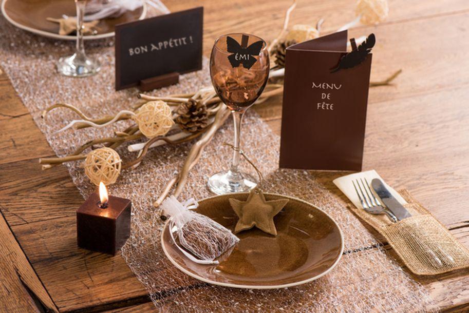 Acheter Ardoise Marque Menu Chocolat Marques Place Menu Etiquettes 1001 Deco Table