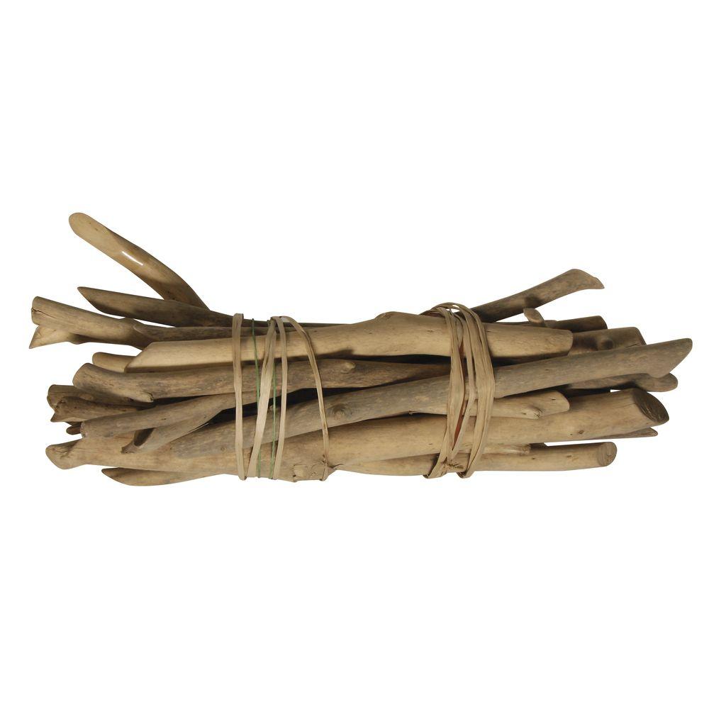 achat baguettes bois flottant naturelles 250gr d coration de table 1001 deco table. Black Bedroom Furniture Sets. Home Design Ideas