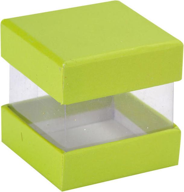 Achat boite drag es cube vert anis contenants drag es - Lambris pvc vert anis ...