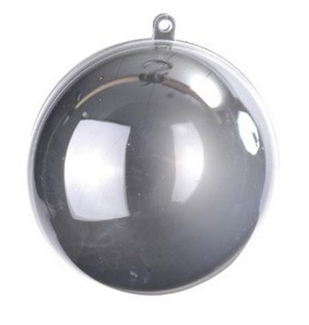 boule transparente plexi argent chal 000340900500004 1001 deco table decoration table. Black Bedroom Furniture Sets. Home Design Ideas