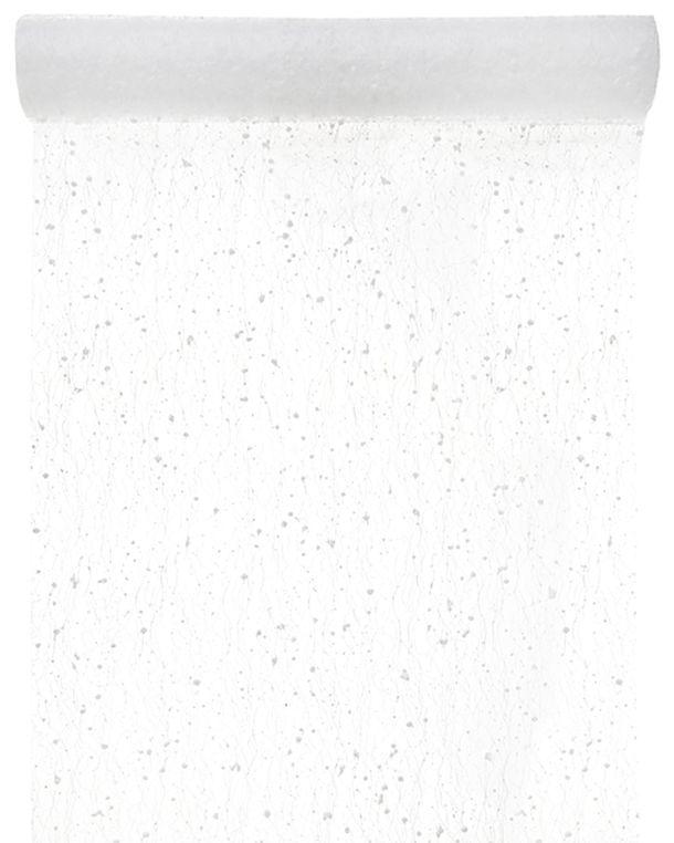 Beautiful 1001 Deco De Table #14: Chemin De Table Neige Blanc