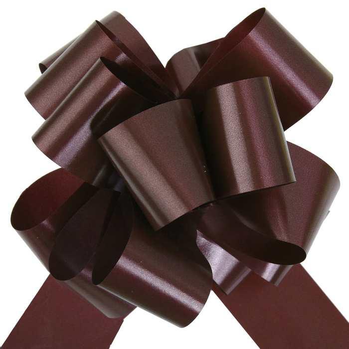 achat grand noeud automatique chocolat d coration de salle 1001 deco table. Black Bedroom Furniture Sets. Home Design Ideas