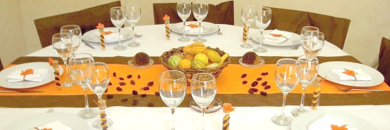 idee de deco de table d'automne | 1001 deco table