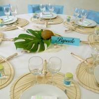 decoration de mariage theme des iles id es et d 39 inspiration sur le mariage. Black Bedroom Furniture Sets. Home Design Ideas