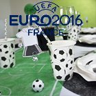 Decoration de table sur le theme du foot