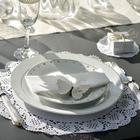 decoration de table dentelles et romantisme...