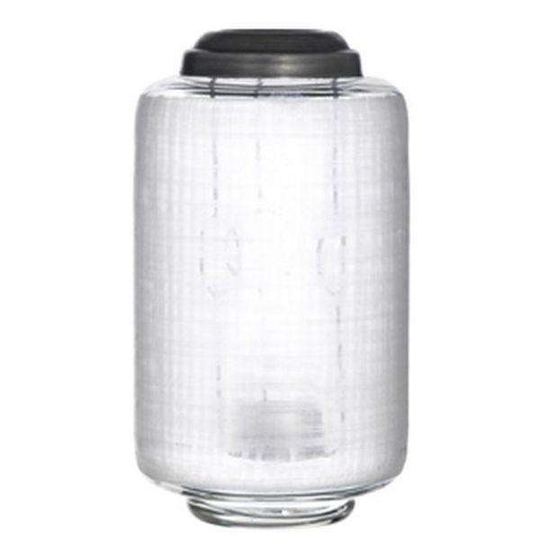vente lanterne en verre et m tal bougies leds photophores 1001 deco table. Black Bedroom Furniture Sets. Home Design Ideas