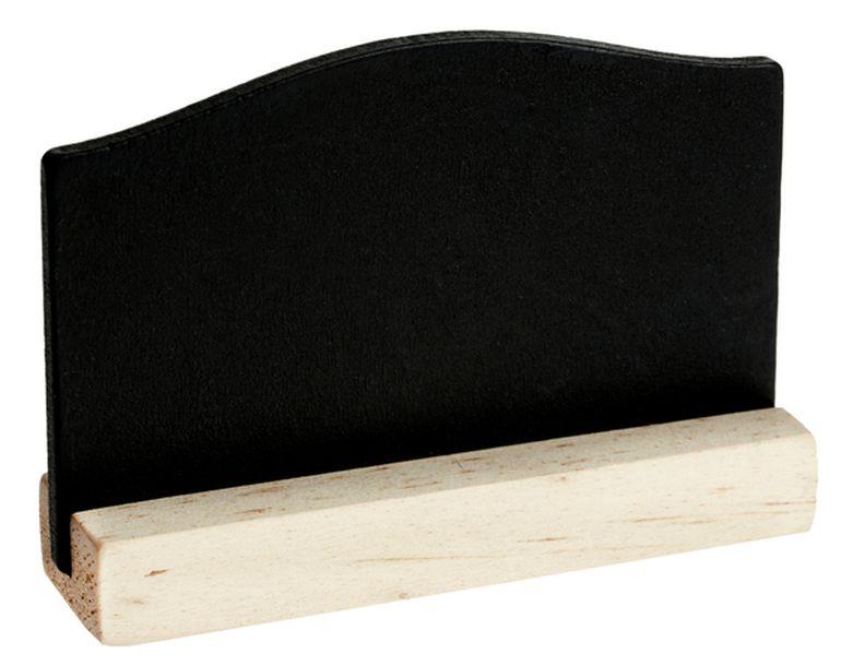 vente marque place ardoise noire lot de 4 marques place. Black Bedroom Furniture Sets. Home Design Ideas