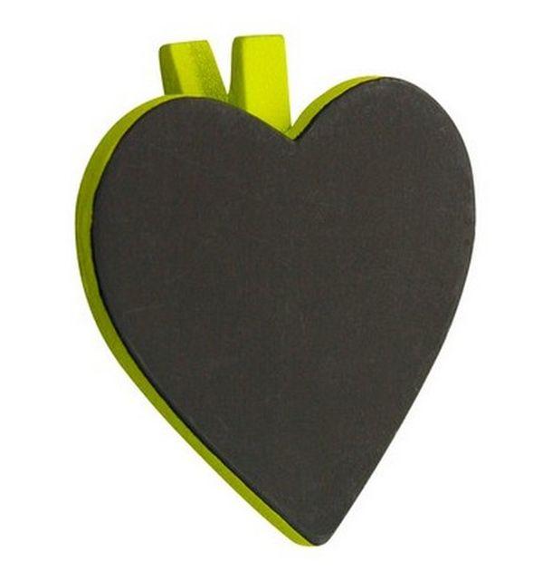 vente marque place porte nom ardoise coeur vert anis marques place menu etiquettes 1001 deco table. Black Bedroom Furniture Sets. Home Design Ideas