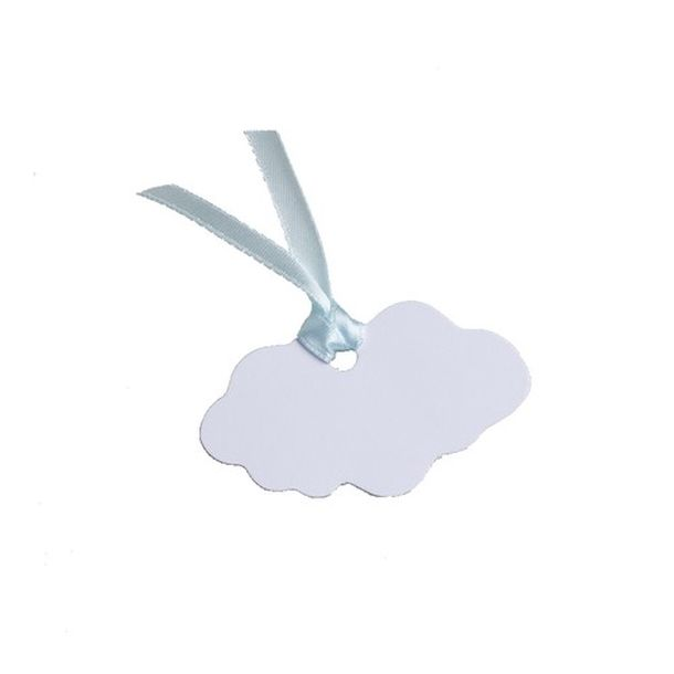 achat marque place porte nom tiquette nuage x4 marques place menu etiquettes 1001 deco table. Black Bedroom Furniture Sets. Home Design Ideas