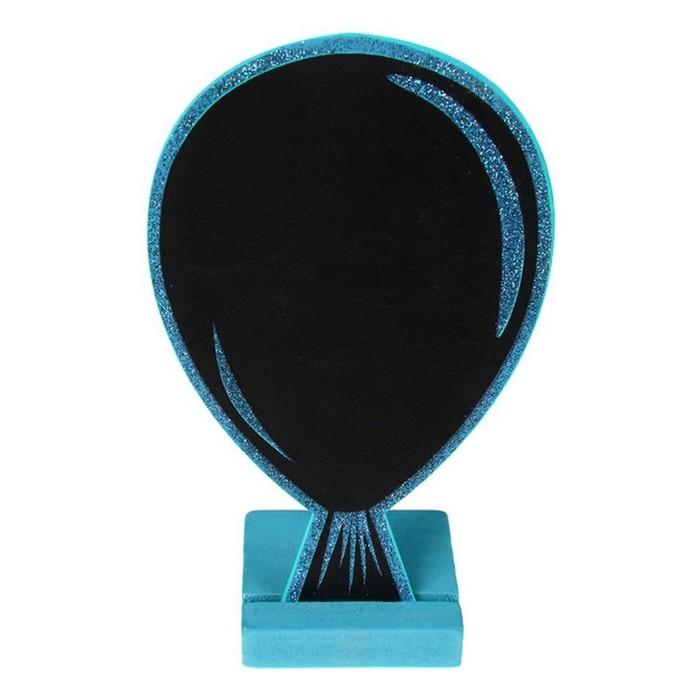Vente Marque Table Ardoise Ballon Paillet Turquoise Marques Place Menu Etiquettes 1001 Deco Table
