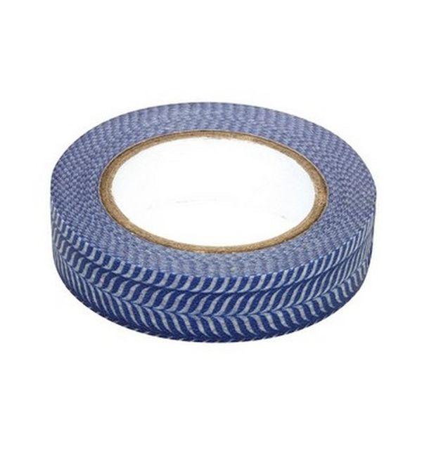 Masking tape en papier washi bleu marine et blanc ray - Deco bleu marine et blanc ...