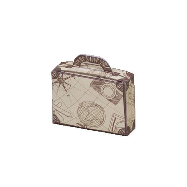 Acheter mini ballotin valise contenants drag es candy bar - Valise en carton a decorer ...