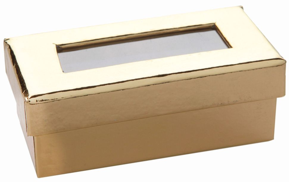 acheter mini boite drag es rectangulaire or miroir contenants drag es candy bar 1001 deco table. Black Bedroom Furniture Sets. Home Design Ideas