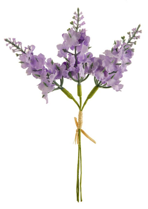 achat mini bouquet de fleurs 3 brins de lavande d coration de table 1001 deco table. Black Bedroom Furniture Sets. Home Design Ideas