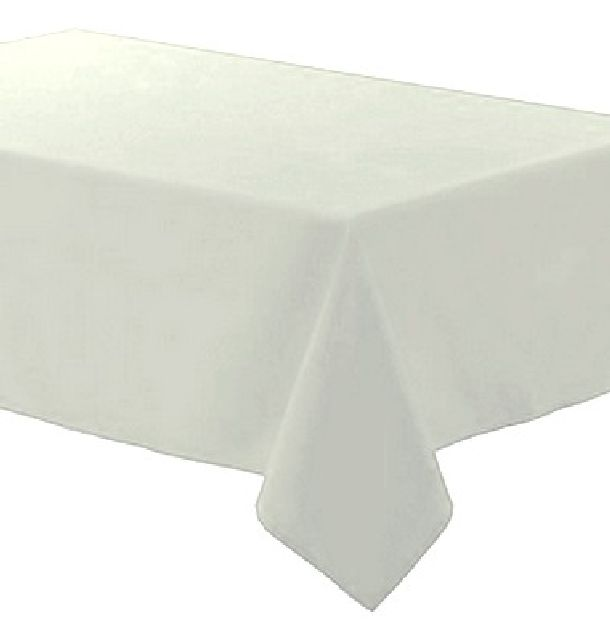 achat nappe polyester blanche nappes serviettes chemins de table 1001 deco table. Black Bedroom Furniture Sets. Home Design Ideas