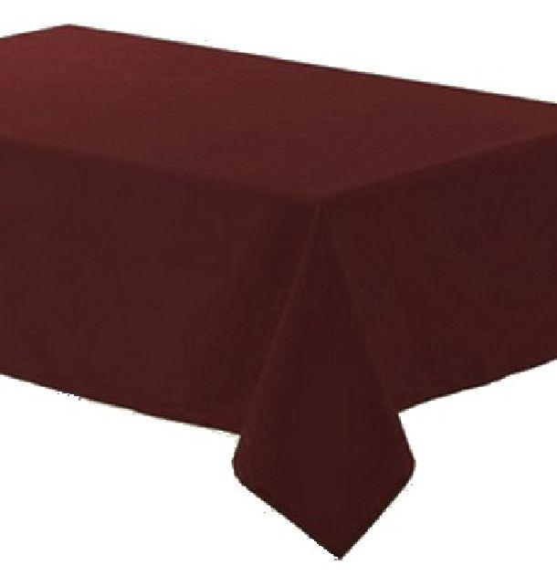 vente nappe polyester chocolat nappes serviettes chemins de table 1001 deco table. Black Bedroom Furniture Sets. Home Design Ideas