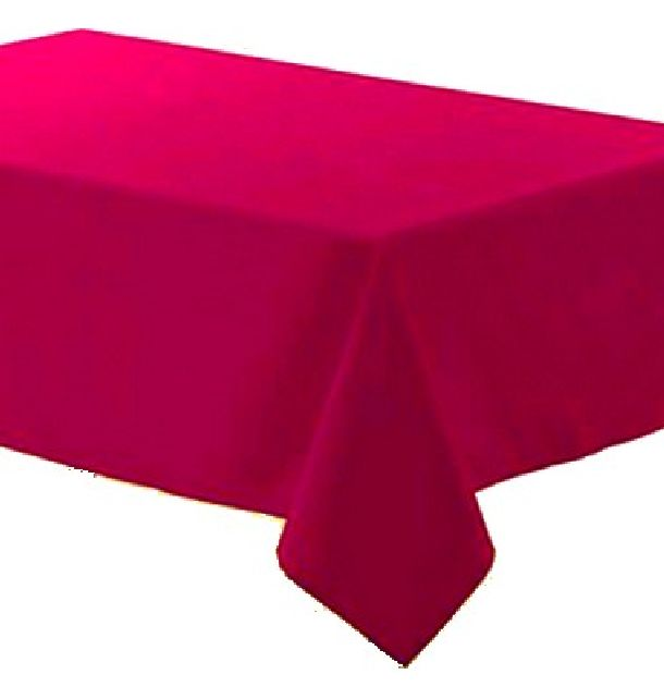 achat nappe polyester fuschia nappes serviettes chemins de table 1001 deco table. Black Bedroom Furniture Sets. Home Design Ideas