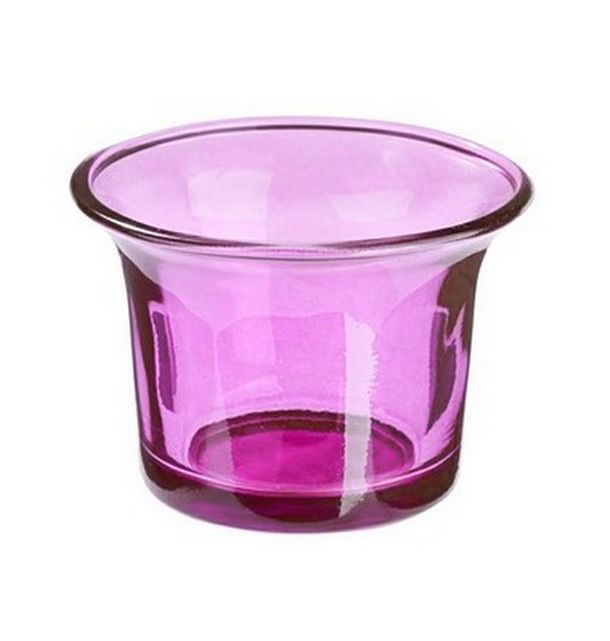 Vente Photophore En Verre Violet Bougies Leds Photophores 1001 Deco Table