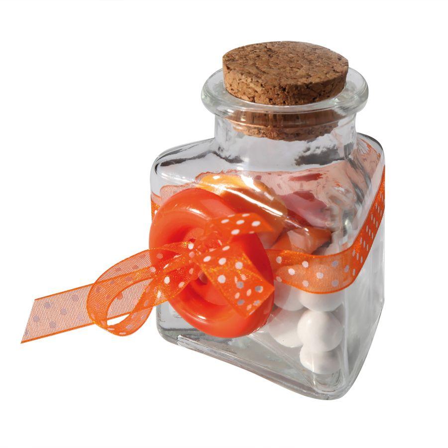 Acheter pot en verre 3 faces bouchon li ge mariage for Pot en verre deco