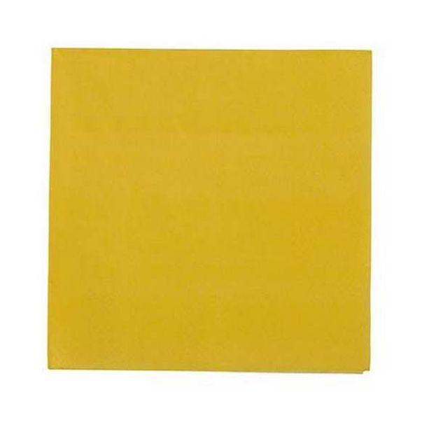 Vente serviette en papier jaune moutarde tables 1001 for Deco serviette de table en papier