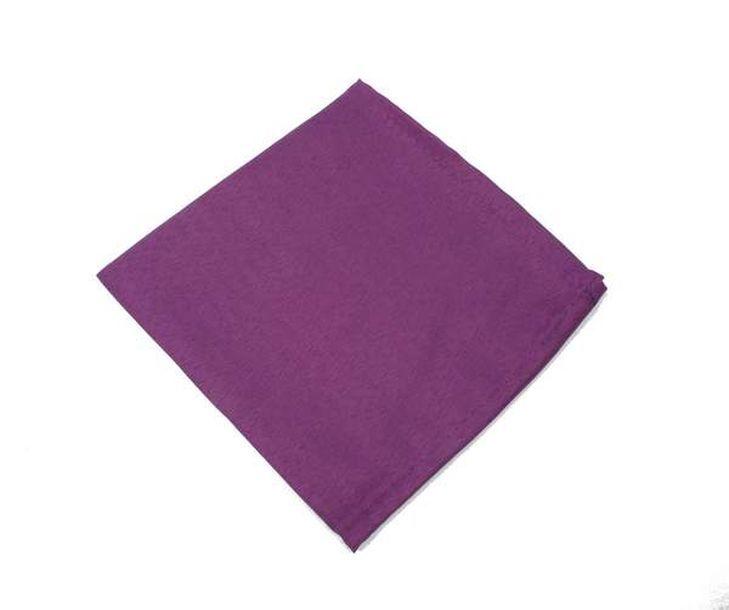 Achat serviette de table polyester unie violette nappes for Nappe et chemin de table en papier