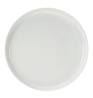 assiette plate ronde blanche. Black Bedroom Furniture Sets. Home Design Ideas