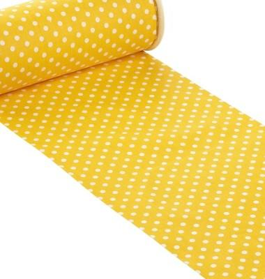 chemin de table jaune pois blanc hbf 3980564 1001 deco. Black Bedroom Furniture Sets. Home Design Ideas