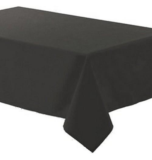 Achat nappe polyester gris anthracite nappes serviettes - Chemin de table gris anthracite ...