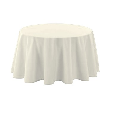 nappe polyester blanche d10 napbl 1001 deco table. Black Bedroom Furniture Sets. Home Design Ideas