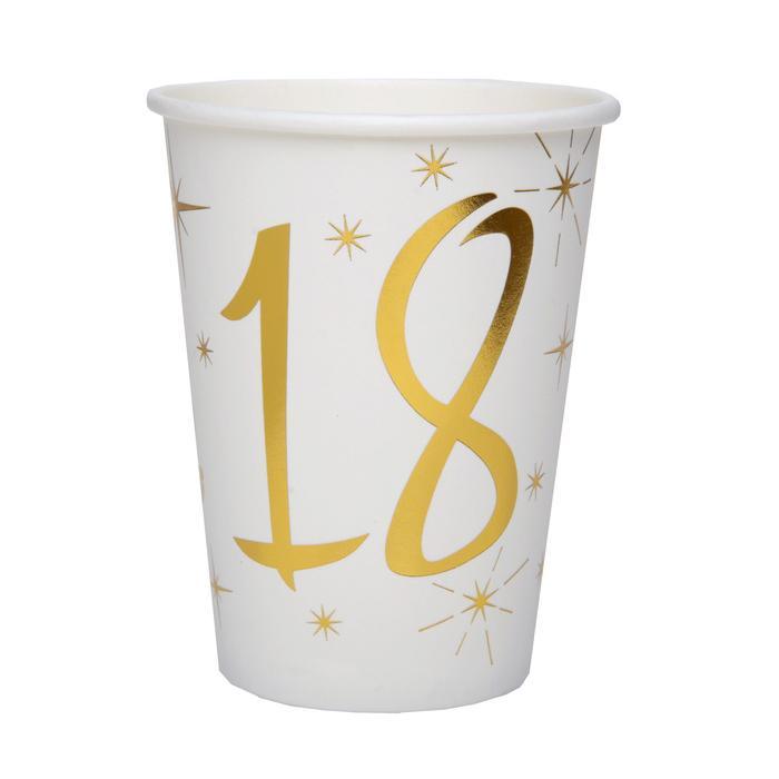 20 Serviettes anniversaire 18ans Chal