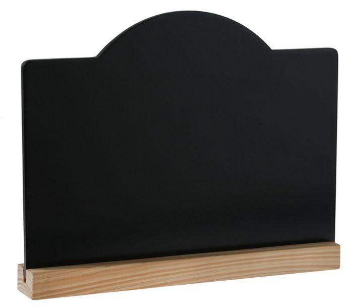 Ardoise Marque Menu, Marque Table Noire