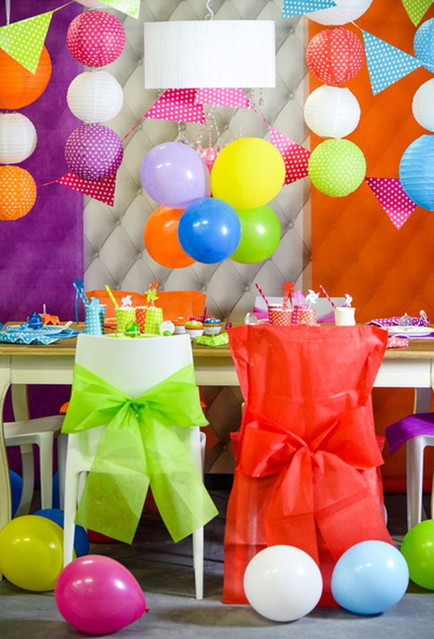Ballons Mariage Anniversaire Multicolores X 25 1001 Deco Table