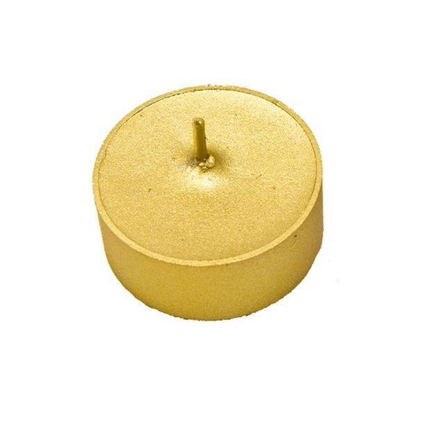 bougie chauffe plat or boite de 6 1001 d co table. Black Bedroom Furniture Sets. Home Design Ideas