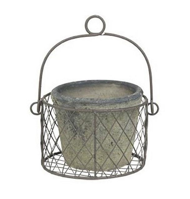 cache pot c ramique 1001 d co table. Black Bedroom Furniture Sets. Home Design Ideas
