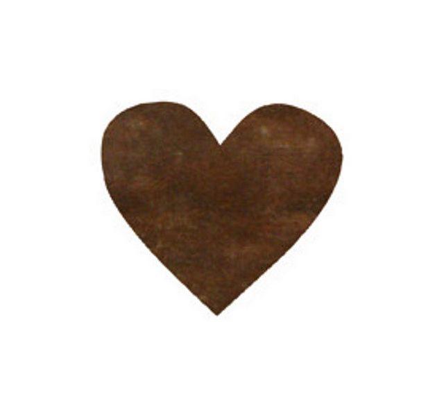 confettis papier coeur chocolat 1001 d co table. Black Bedroom Furniture Sets. Home Design Ideas