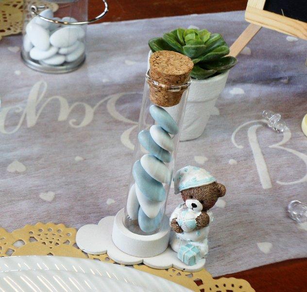 Figurine Ourson Bapteme Garcon 1001 Deco Table