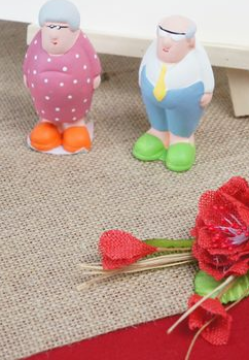 figurines pour decoration de table | 1001 deco table