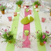 decoration de table theme nature