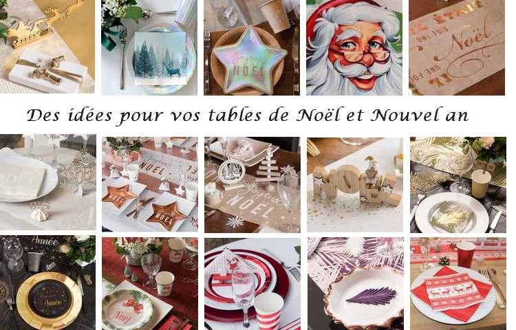 Découvrez toutes nos tables de fêtes de fin d'années.