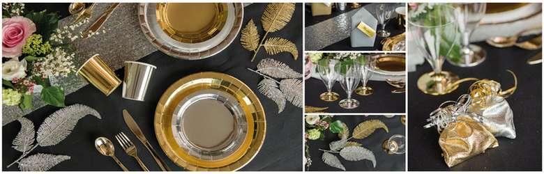 Belle décoration de table pour noël ou nouvel an