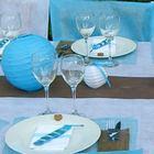 Idées de décoration de table bapteme garçon | 1001 deco table