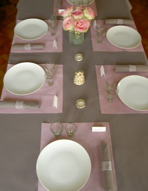 deco de table theme campagne anglaise