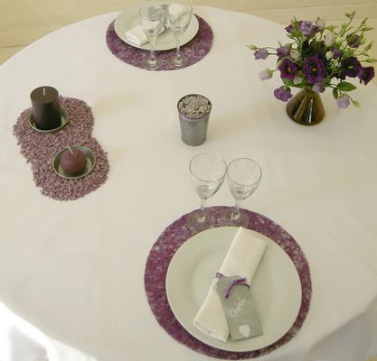 idee de decoration de table romantique