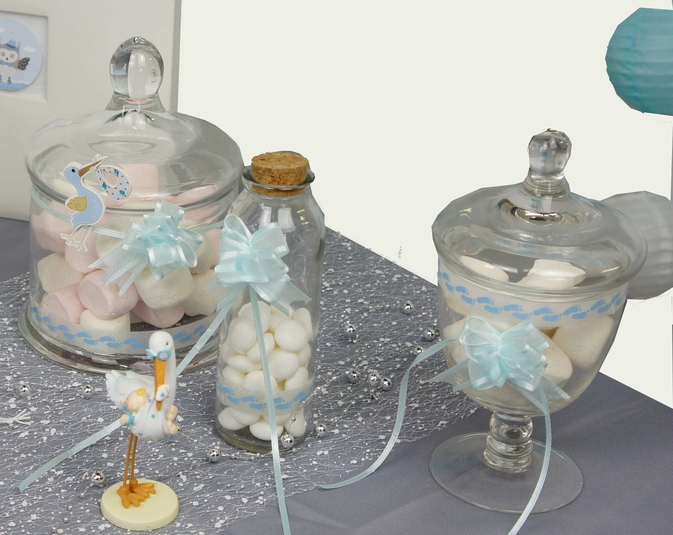 Candy bar pour bapteme | 1001 deco table