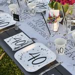 Decoration de table anniversaire selon les ages | 1001 deco table