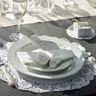 decoration de table romantisme et dentelles...