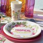 Décoration de table ambiance tropicale | 1001 Déco table