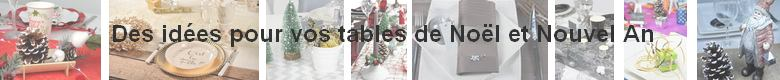 Décorations de table de fêtes Noël et nouvel an